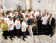 Legendary Chefs Toast 9th Annual Vegas Uncork'd by Bon Appétit with Burst of Prosecco