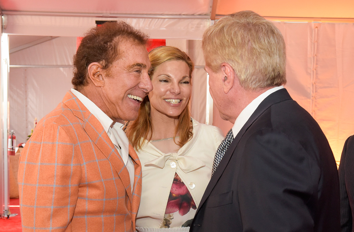 Steve-Wynn-Attends-World-Resorts-Las-Vegas,-Groundbreaking-Ceremony