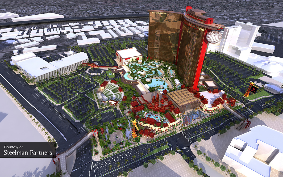 World-Resorts-Las-Vegas,-Aerial-Rendering-View