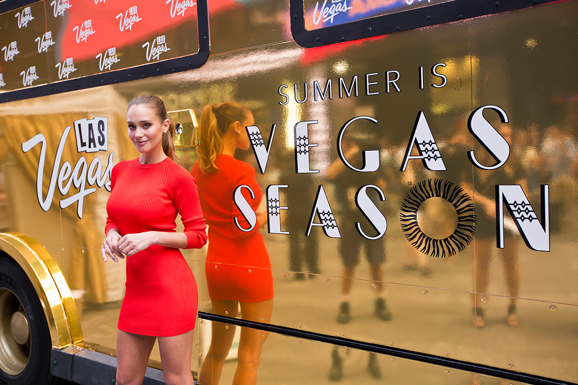 Hannah-Davis-poses-with-the-Ice-Dream-Truck