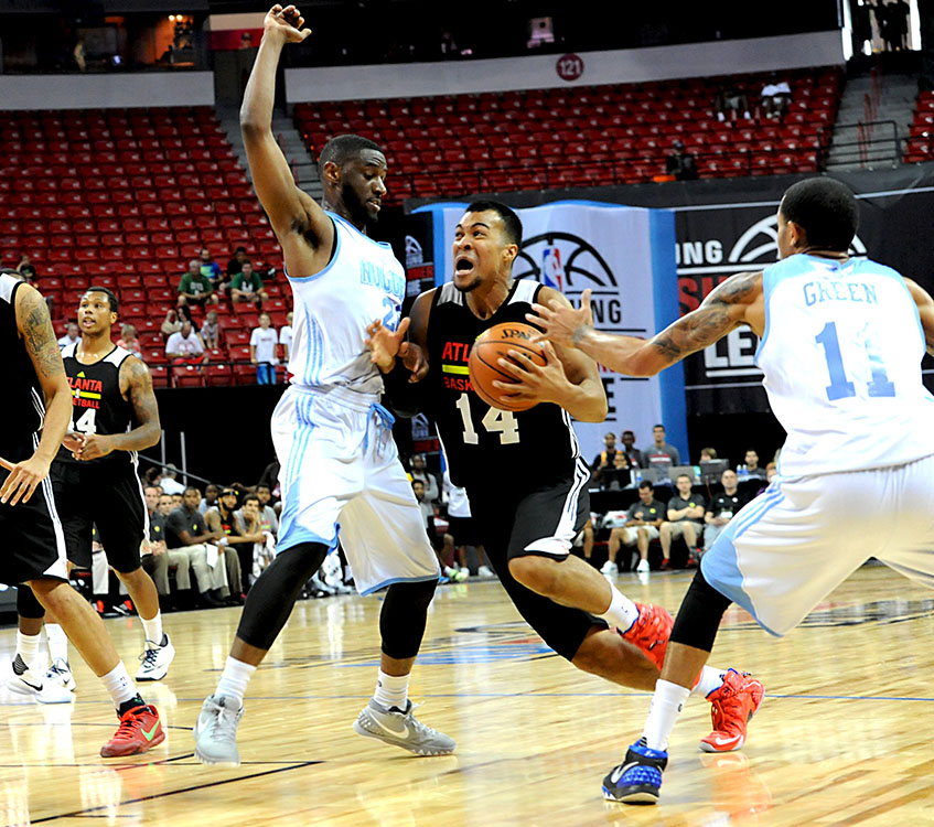 Atlanta Hawks vs Denver Nuggets, Samsung NBA Summer League, Las Vegas