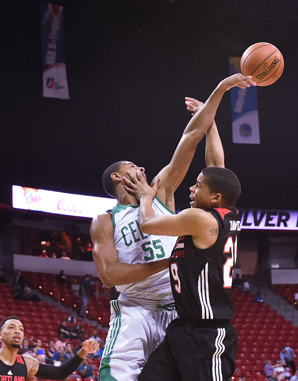 Portland Trail Blazers vs Boston Celtics, Samsung NBA Summer League, Mack Center Las Vegas