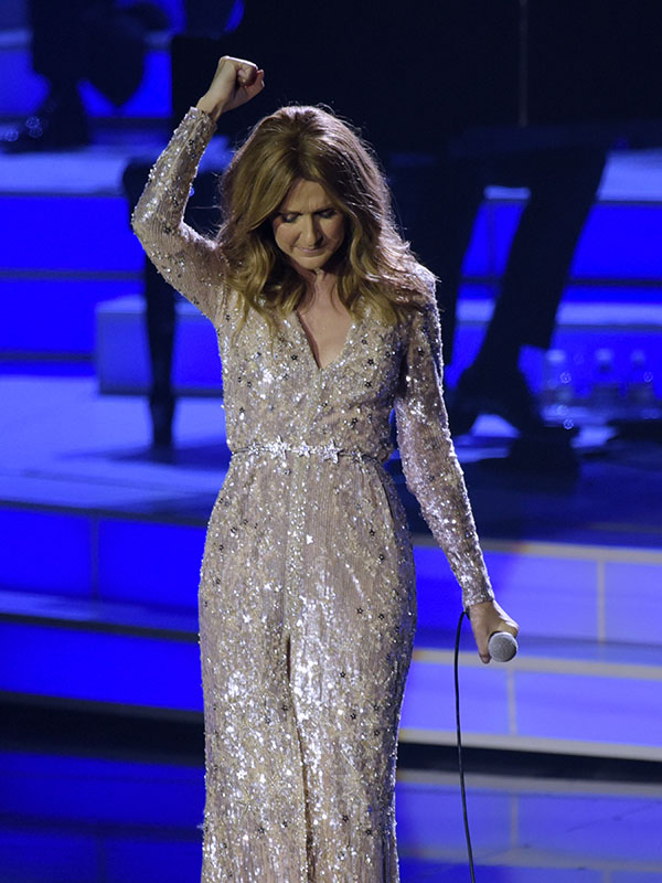 Celine Dion Returns to Caesars Palace, Las Vegas
