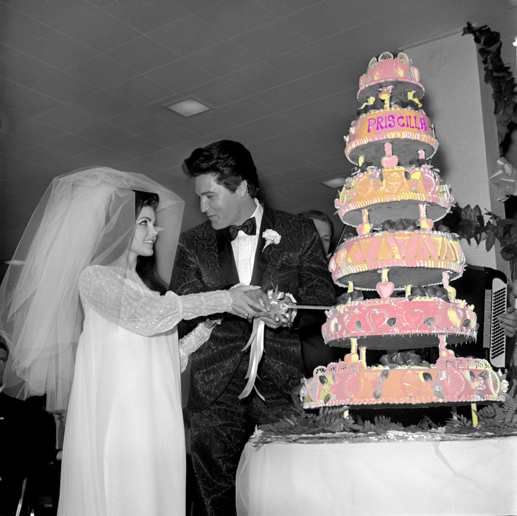 Elvis Presley & Priscilla Beaulieu Wedding 1967 Las Vegas