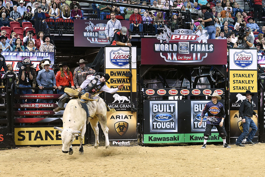 Ben Jones, PBR Bull Riding World Finals