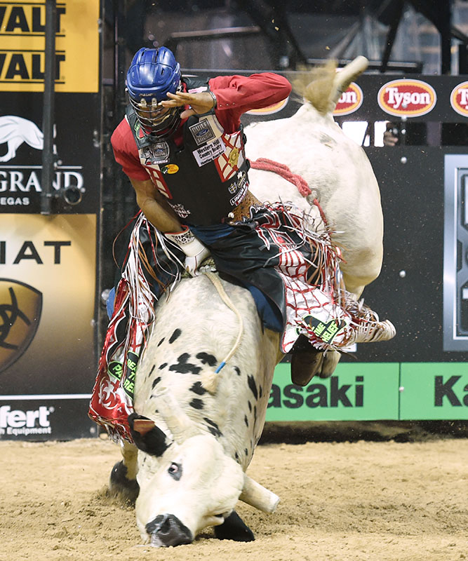 Robson Aragao, PBR Bull Riding World Finals