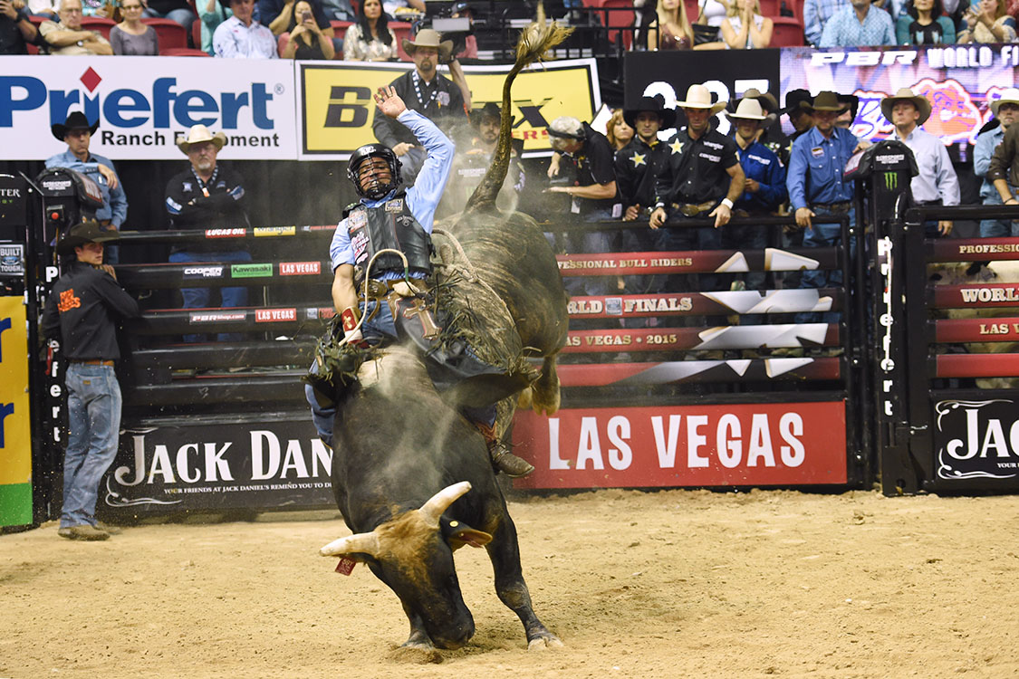 Rubens Barbosa, PBR Bull Riding World Finals