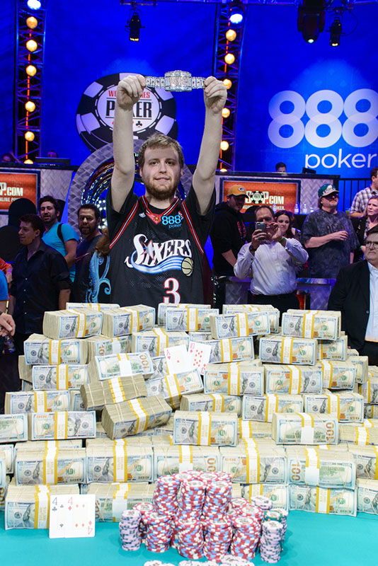 wsop main event prize money