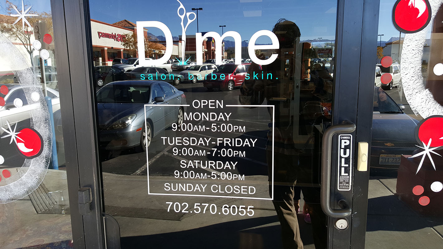 Barber Shop Open On Monday : Hours of Dime Salon & Barber Shop, Summerlin South, Las Vegas