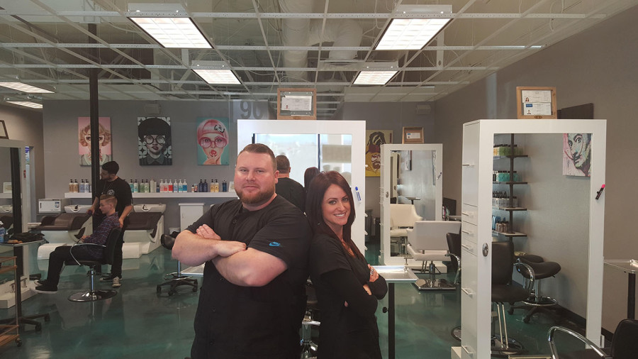 Dime Barber Shop, Master Barbers Ben Orchard & Michelle Pancare, Summerlin South in Las Vegas