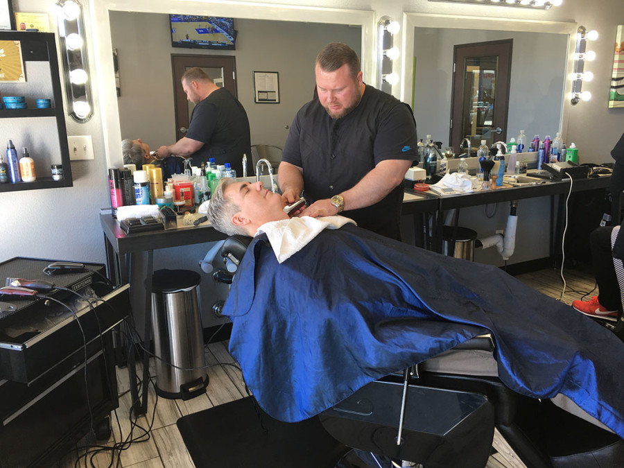 Master Barber Ben Orchard, Dime Salon & Barber Shop, Summerlin South in Las Vegas