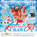 Sexy Santa Las Vegas Nightclub Crawl, VIP No Lines Free Drinks