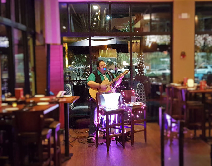 Live Music by Hal Savar, Wednesday nights at Crave Restaurant, DT Summerlin Las Vegas