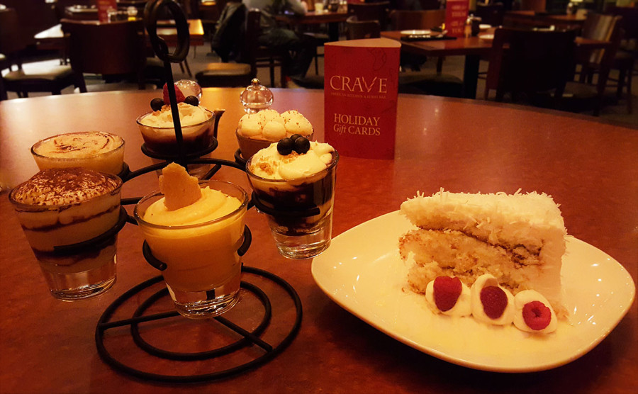 """The Original"" Coconut Cake, Crave Restaurant in Downtown Summerlin, Las Vegas"