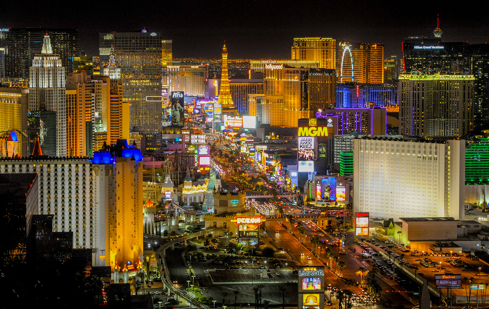 list hotels in las vegas