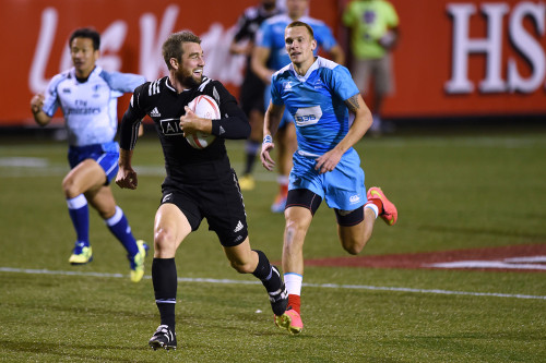 New Zealand's Kurt Baker, USA Sevens Rugby Tournament, Las Vegas