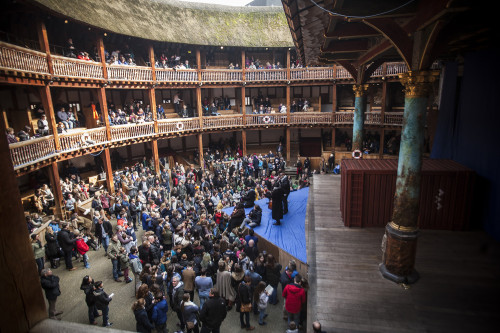 Globe Theatre, Shakespeare