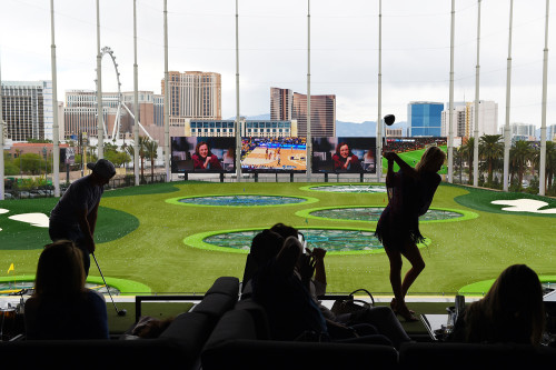 Topgolf Opens on Las Vegas Strip, June 2016