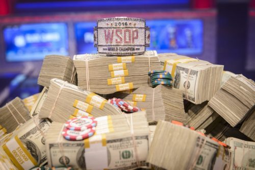 Photo Credit: Cash/Bracelet: Jayne Furman/WSOP