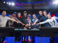 Final Table Set at 2016 World Series of Poker Main Event