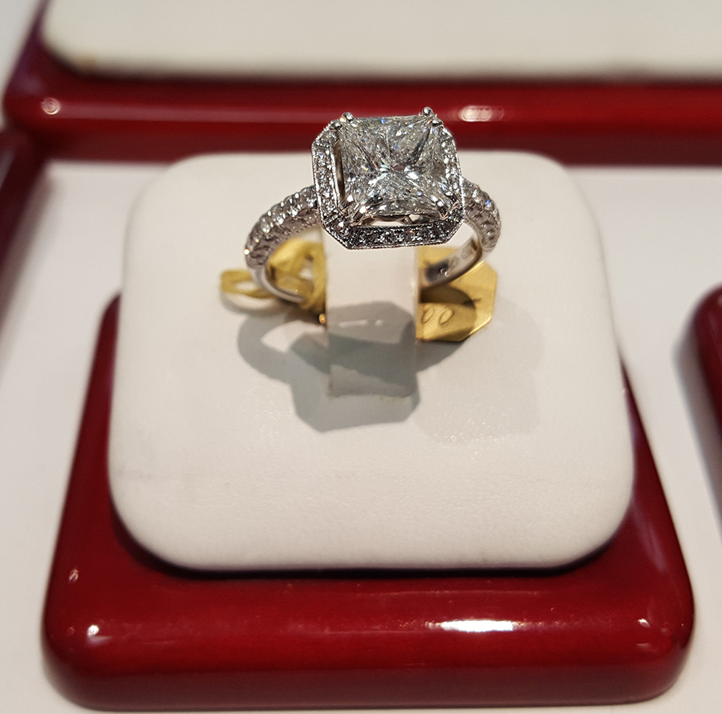 Beautiful Wedding Ring, Morgan Taylor Jewelers, West Las Vegas