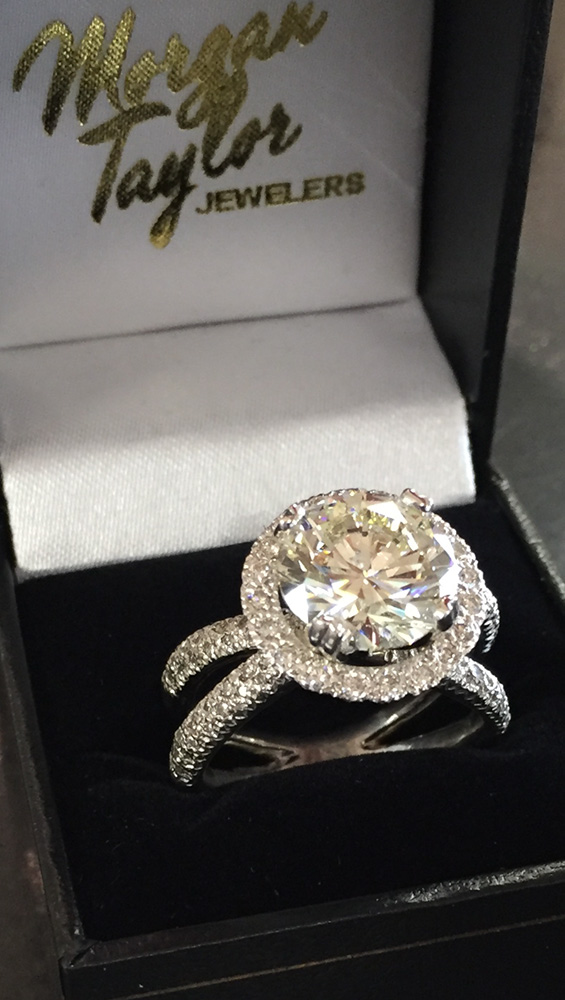 Beautiful Wedding Ring from Morgan Taylor Jewelers, West Las Vegas