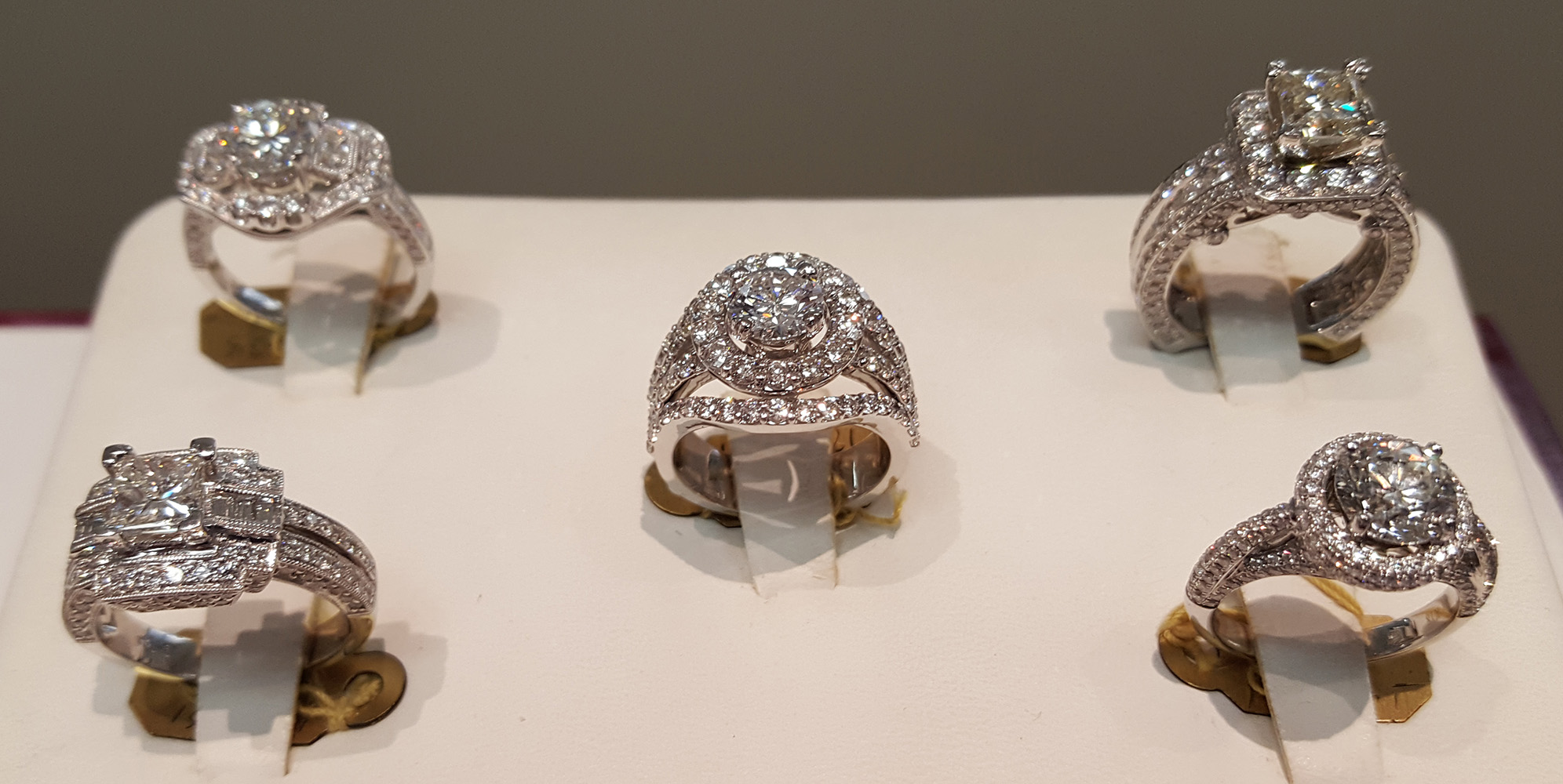 Elegant, Breathless Wedding Rings from Morgan Taylor Jewelers in West Las Vegas