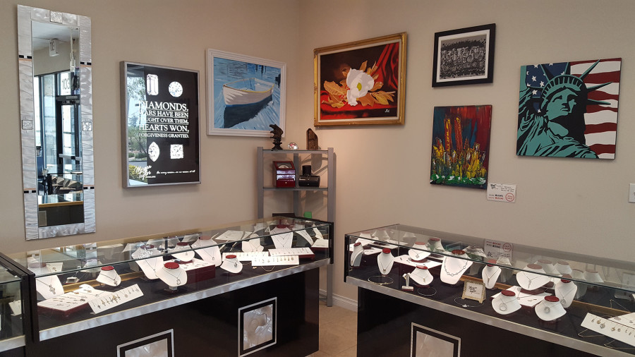 Elegant Jewelry and Art, Morgan Taylors Jewelers, West Las Vegas