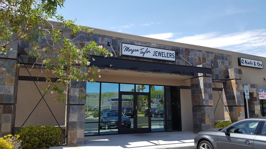 Entrance to Morgan Taylor Jewelers, West Las Vegas