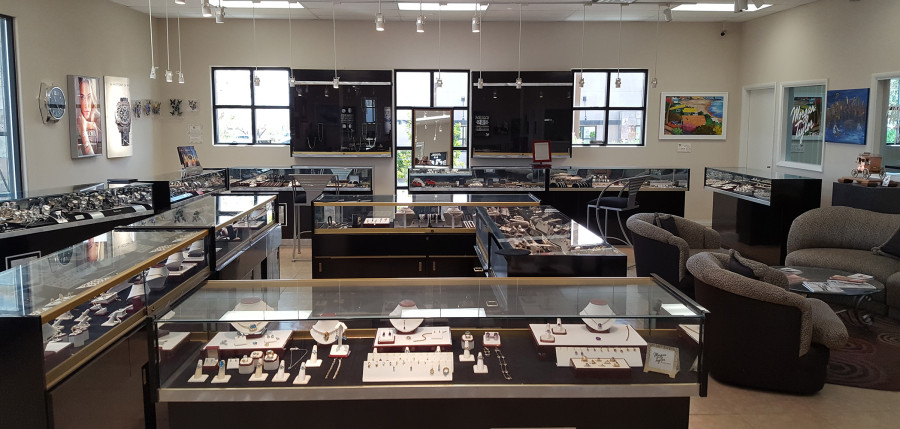 Inside the Elegant Morgan Taylor Jewelers, West Las Vegas