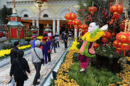 Chinese New Year, Bellagio Las Vegas