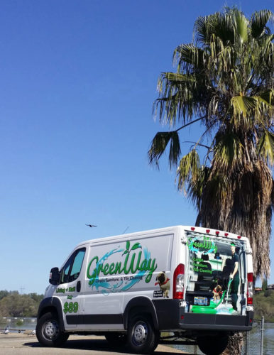 GreenWay Carpet Cleaning Las Vegas Van