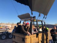 Soaring the Skies of Vegas in a Hot Air Balloon