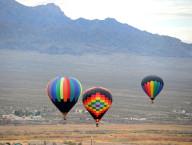 Hot Air Balloons Fill Mesquite Skies for Annual Festival, Jan. 23 – 24